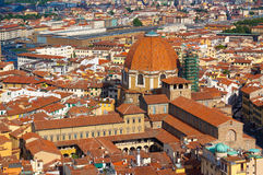 Florence.Italy. Italy Is Florence.The Basilica Of San Lorenzo Royalty Free Stock Photography
