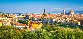 Florence, Italy. Beautiful view on Florence stock photography