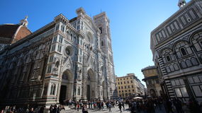 Florence, italy, cathedral and baptistery, world heritage Stock Photo