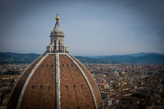 Florence, italy: cathedral dome details Stock Photography