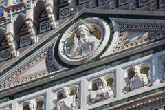 Florence, italy, cathedral, marble details and monuments Royalty Free Stock Image