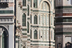 Florence, italy, cathedral, marble details Stock Photo