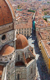 Florence.Italy. The Cathedral of Santa Maria del Fiore in Florence Stock Photos