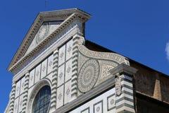 Florence Italy Church called Santa Maria Novella Stock Photography