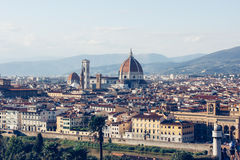 Florence, Italy, Cityscape of with the Cathedral Royalty Free Stock Images