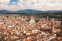 Florence, Italy,cityscape from Giotto tower Stock Photos