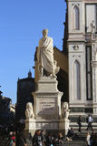 Florence, italy, dante alighieri monument Stock Photos