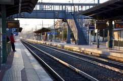 Train station Firenze Campo di Marti Royalty Free Stock Photos