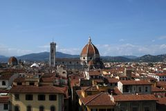 Florence Italy and the Duomo Royalty Free Stock Image