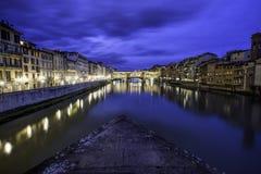 Florence Italy fönster på havet arkivfoto