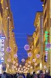 florence italy gata arkivbilder
