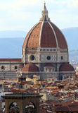 FLORENCE in Italy with the great dome of the Cathedral Stock Photo