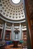 Florence, Italy - May 19, 2014: Tangerine tree in Laurentian library. Royalty Free Stock Photography