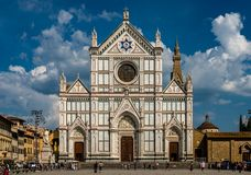 Basilica di Santa Croce royalty free stock photos