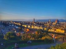 Florence Italy Michel-plein royalty-vrije stock afbeeldingen