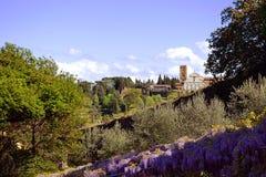 florence italy miniato san Arkivbilder