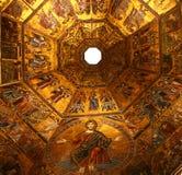 florence italy mosaik royaltyfria bilder