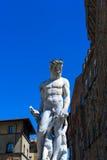 florence italy neptune staty Arkivbilder