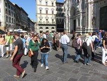 Florence Italy occupée Photographie stock libre de droits