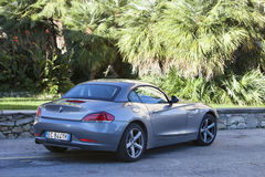 Florence, Italy - October 17, 2013: BMW Z4 Sdrive 23i sports car Stock Photography