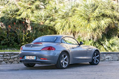 Florence, Italy - October 17, 2013: BMW Z4 Sdrive 23i sports car Stock Photos