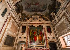 Santissima Annuziata church, Florence, Italy Royalty Free Stock Images