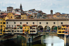 The Ponte Vecchio bridge Royalty Free Stock Photography
