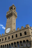 Florence Italy Old Palace called Palazzo Vecchio Stock Photos