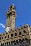 Florence Italy Old Palace nannte Palazzo Vecchio Stockfotos