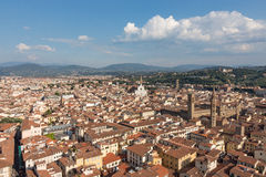 View of Florence in Italy Royalty Free Stock Photo