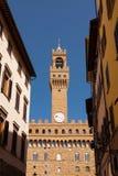 florence italy palazzovecchio royaltyfri fotografi