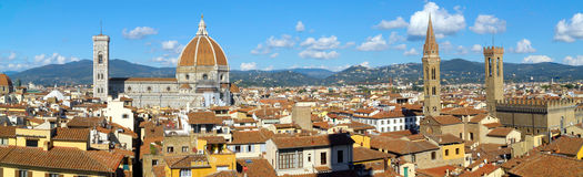 Florence, Italy panorama Royalty Free Stock Photo