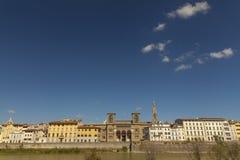 florence italy panorama- sikt Royaltyfri Fotografi