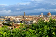 Florence in Italy Stock Photos