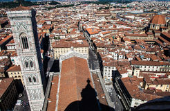Florence panoramic view royalty free stock photography