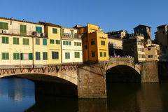 florence Italy ponte vecchio Zdjęcie Royalty Free