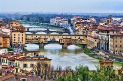 florence Italy ponte vecchio Fotografia Stock