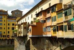 florence italy pontevecchio fotografering för bildbyråer
