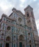 florence Italy Sławna Dzwonnica Di Giotto Obraz Royalty Free