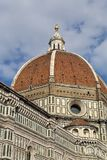 People on top of the dome of the cathedral of Florence, Italy Stock Photo