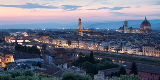 Florence, Italy Skyline Stock Images