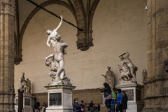 Florence, Italy statuary Royalty Free Stock Photo