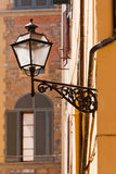 Florence, Italy, street lamp close up Royalty Free Stock Photography