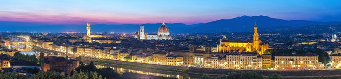 Florence Italy, panorama city skyline royalty free stock images