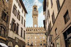 FLORENCE, ITALY. Town hall in Florence, Italy Royalty Free Stock Photography