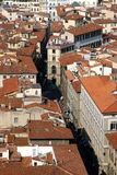 Florence Italy From Above Royalty Free Stock Photography
