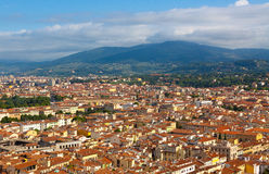 Florence.Italy. Florence - view of the city Stock Photos