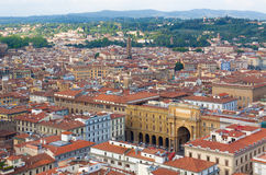Florence.Italy. Florence - view of the city Stock Photography