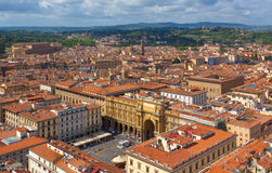 Florence.Italy. Florence - view of the city Royalty Free Stock Image