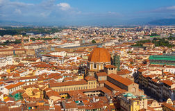 Florence.Italy. Florence - view of the city Royalty Free Stock Photos